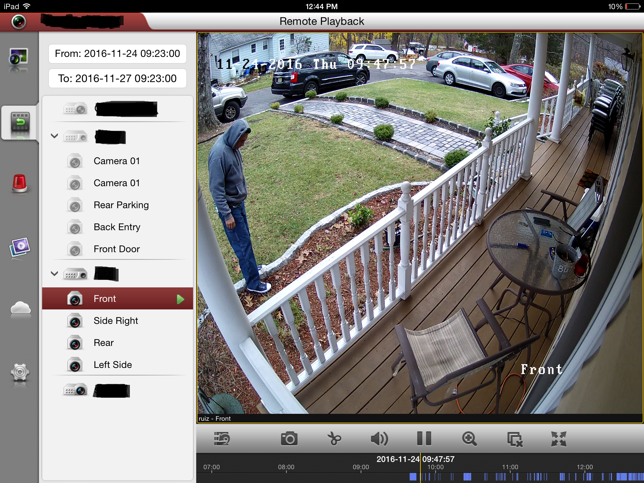 westchester and fairfield home security camera systems